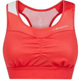 La Sportiva Captive Sports-BH Damer, rød/pink